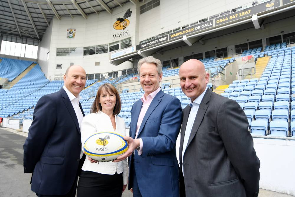 Wright Hassall Wasps legal partnership