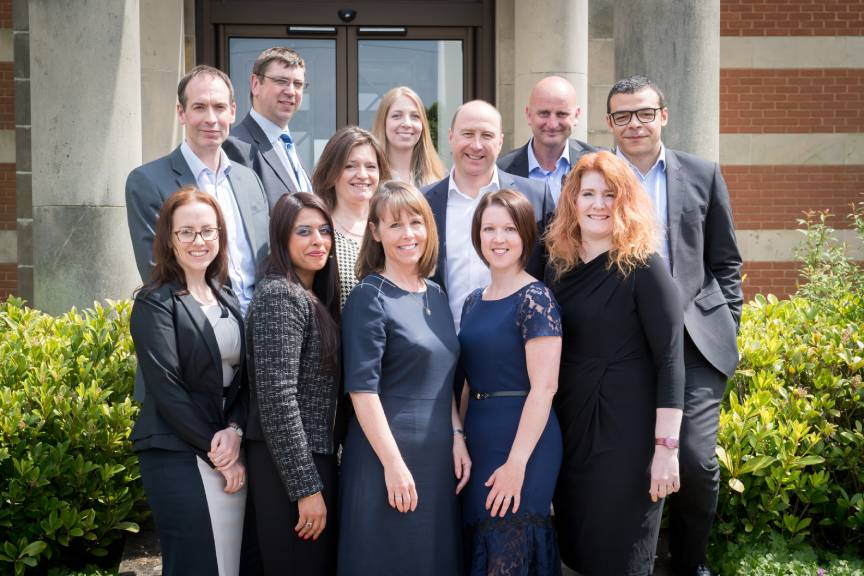 Wright Hassall team of lawyers